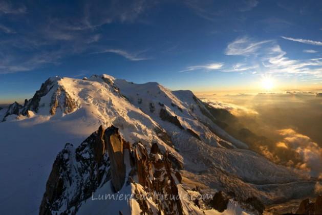 Lumieres D Altitude Banque D Images Paysages Hautes